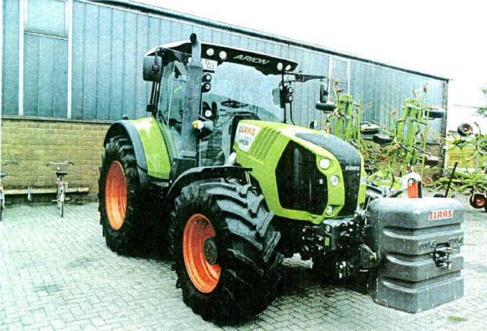 Tractor  Claas ARION 550